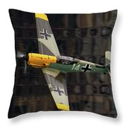 Messerschmitt Throw Pillow