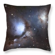 Messier 78, Also Known As Ngc 2068 Throw Pillow