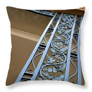 Metal Design Throw Pillow