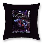 Metal Eve Throw Pillow