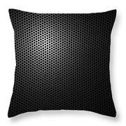 Metal Grating Throw Pillow