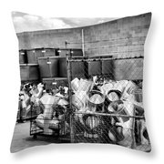 Metal Gear Palm Springs Throw Pillow