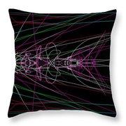 Metamorph Throw Pillow