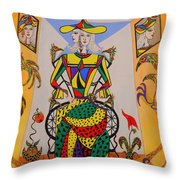 Eleonore Graduation  Throw Pillow