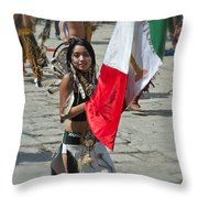 Mexican Heritage Throw Pillow