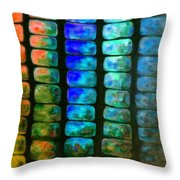 Mexican Jungle 4 Throw Pillow