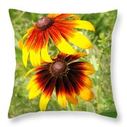 Mexican Sunflowers 2 Throw Pillow