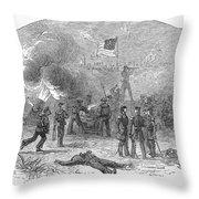 Mexican War: Vera Cruz Throw Pillow