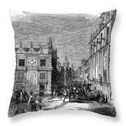 Mexico City, 1845 Throw Pillow