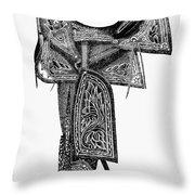 Mexico: Saddle, 1882 Throw Pillow
