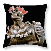 Mexico: Teotihuacan Throw Pillow