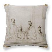 Meyer Guggenheim And Sons Throw Pillow