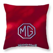 Mg 1600 Mk II Emblem Throw Pillow