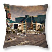 Mgm Grand - Impressions Throw Pillow