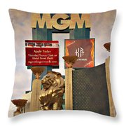 Mgm Marquee - Impressions Throw Pillow