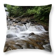 Michigan Waterfall Throw Pillow