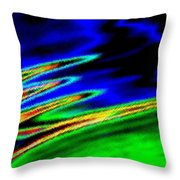 Micro Linear 26 Throw Pillow