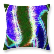 Micro Linear 29 Throw Pillow