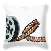 Microfilm Throw Pillow