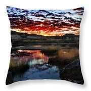 Middle Earth Hdr2 Throw Pillow