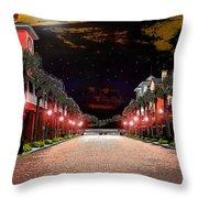 Midnight Halloween Throw Pillow