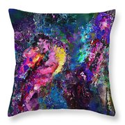 Midnight Kiss  Throw Pillow