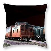 Midnight Rest Throw Pillow