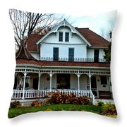 Midwest Victorian Throw Pillow