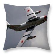 Mig-15 Uti Throw Pillow
