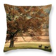 Mighty Oak Throw Pillow