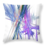 Mikado-b Throw Pillow