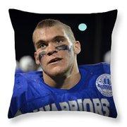 Mike Davis Throw Pillow