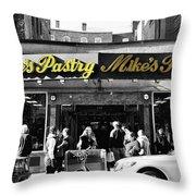 Mikes Pastry In Boston 2011 Throw Pillow