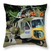 Mil Mi-2 Hoplite Throw Pillow