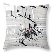Milan Duomo Square Throw Pillow