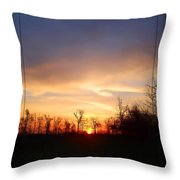Mild Morning Throw Pillow