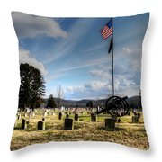 Military Honors Throw Pillow
