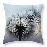 Wind Blown 1 Throw Pillow