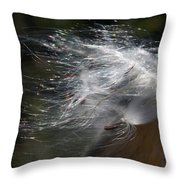Milkweed I Throw Pillow