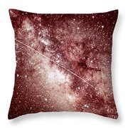 Milky Way In Sagittarius Throw Pillow