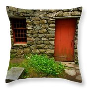 Mill House Throw Pillow