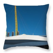 Millennium Dome London Throw Pillow