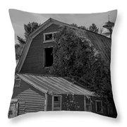 Milton Barn Throw Pillow