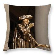 Mime Florence Italy Throw Pillow