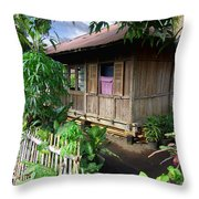 Minahasa Traditional Home 1 Throw Pillow