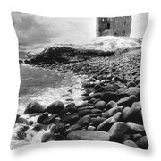 Minard Castle Throw Pillow
