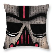 Minimally Dv Throw Pillow by Jera Sky