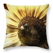 Mining For Gold Throw Pillow
