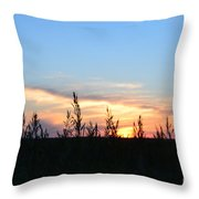 Minnesota Sunset 12 Throw Pillow