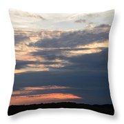 Minnesota Sunset 2 Throw Pillow